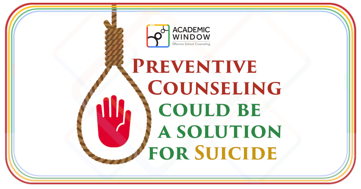Preventive Counseling could be a solution for Suicide